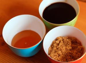 Honey, Brown Sugar & Balsamic Vinegar