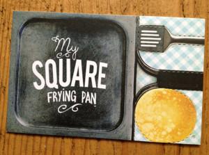 My Square Fryingpan Business Card