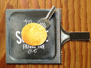 My Square Frying Pan Business Card 2