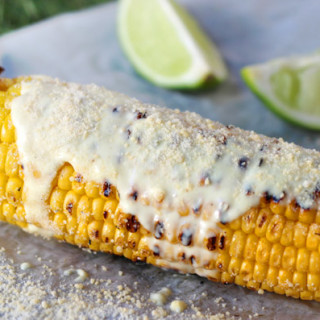 Hola! Celebrate Day of the Dead with Elote (BBQ Sweet Corn with Cheese)