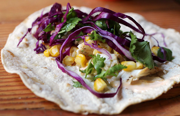 BBQ Grilled Fish Tacos with Chipotle Lime Dressing - My Square Frying ...