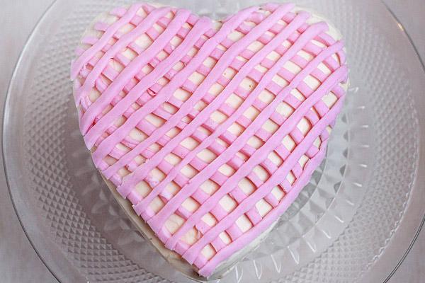Valentines Sweetheart Cake