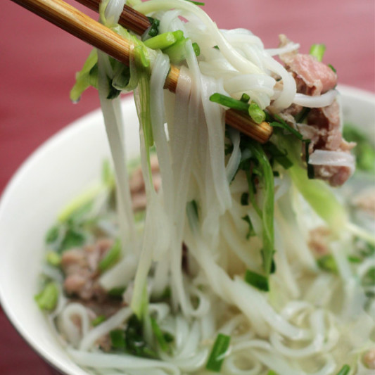 Phở (Vietnamese Noodle Soup) - My Square Frying Pan