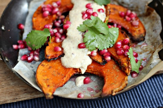 Roast Pumpkin and Spiced Yoghurt