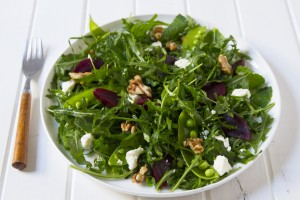 Beetroot, Feta and Walnut Salad