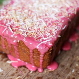 Phillippa's Raspberry Coconut Tea Cake
